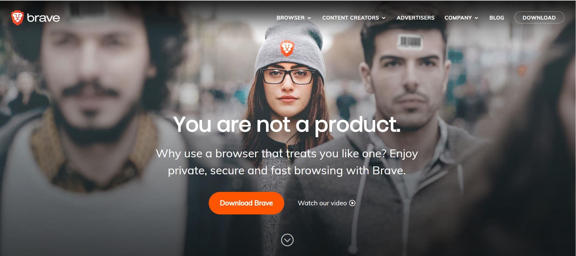 Brave: browser