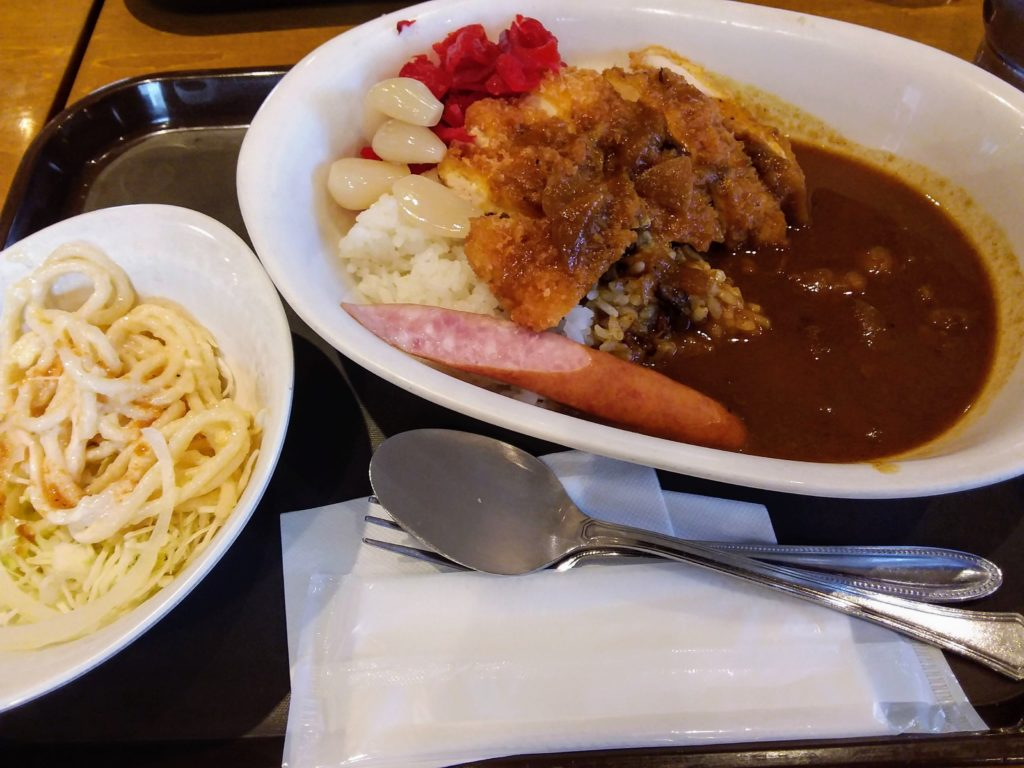 Japanese curry and rice, Photo by HANA, Fukuoka in Japan