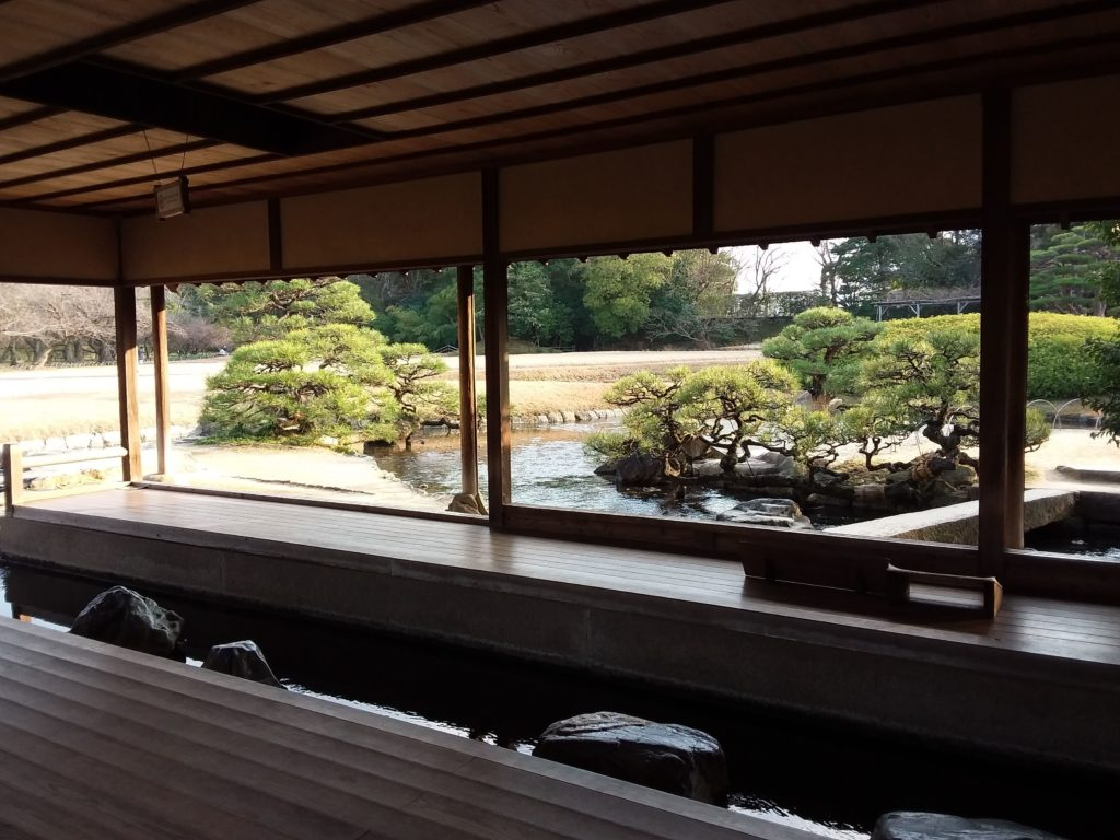 Korakuen Garden, photo by HANA, Okayama in Japan