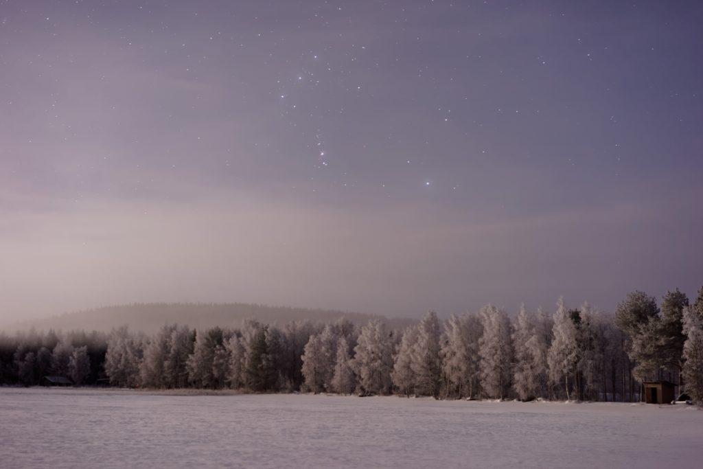 A winter draft - a Haiku